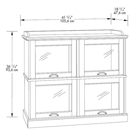 Amazing Elite Lane TV Stands Throughout Barrister Lane High Boy Tv Stand Sauder (View 32 of 50)