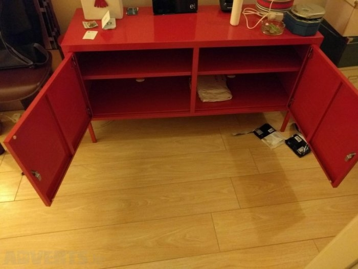 Amazing Elite Lockable TV Stands In Steel Metal Lockable Red Cabinet Storage Tv Stand Ikea Ps Moving (Image 1 of 50)