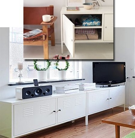 Amazing Elite Lockable TV Stands With Regard To Amazon Ikea White Cabinet Tv Stand Multi Use Lockable (Image 2 of 50)