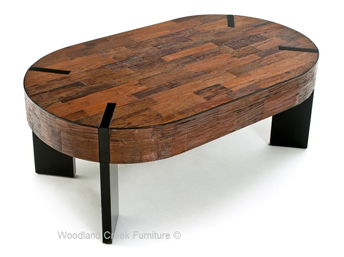 Amazing Elite Oval Wood Coffee Tables Within Rustic Meets Modern Coffee Table Reclaimed Coffee Table Custom (Image 2 of 50)