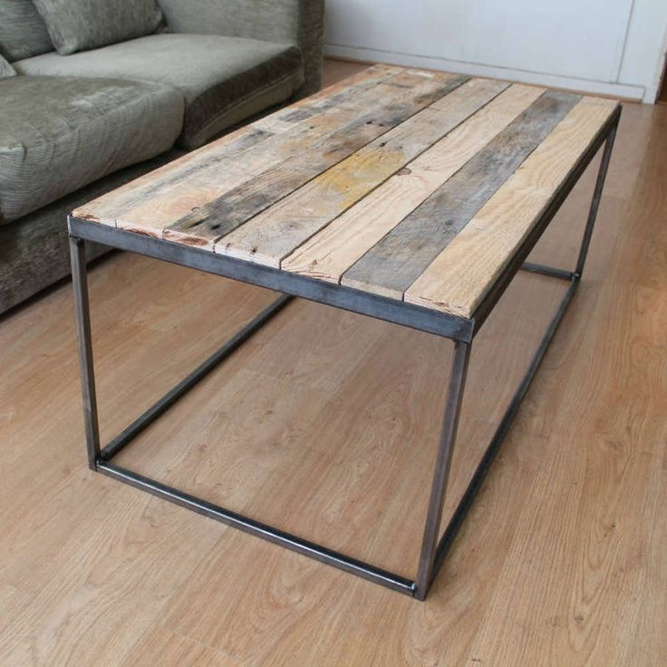 Amazing Elite Reclaimed Wood And Glass Coffee Tables For 1224 Best Tables Images On Pinterest Live Edge Furniture Tables (View 23 of 50)