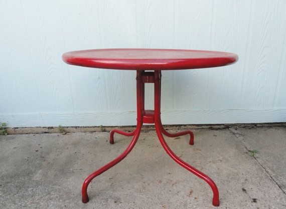 Amazing Elite Round Red Coffee Tables Pertaining To 25 Best Red Coffee Tables Ideas On Pinterest Yellow Coffee (Image 1 of 50)