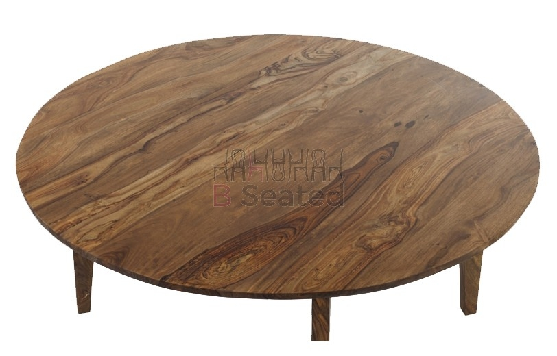 Amazing Elite Sheesham Coffee Tables Within Sheesham Round Coffee Table (View 13 of 50)