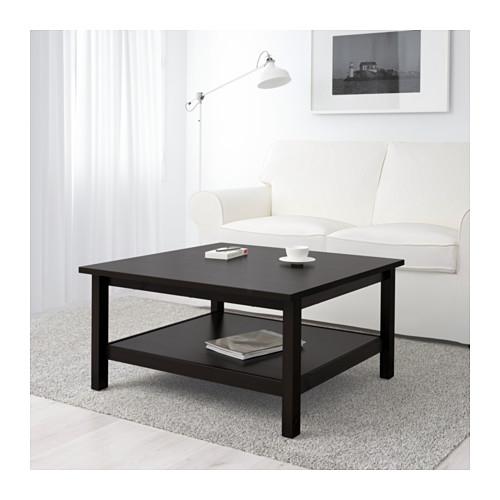 Amazing Elite Square Black Coffee Tables In Hemnes Coffee Table Black Brown Ikea (View 19 of 40)