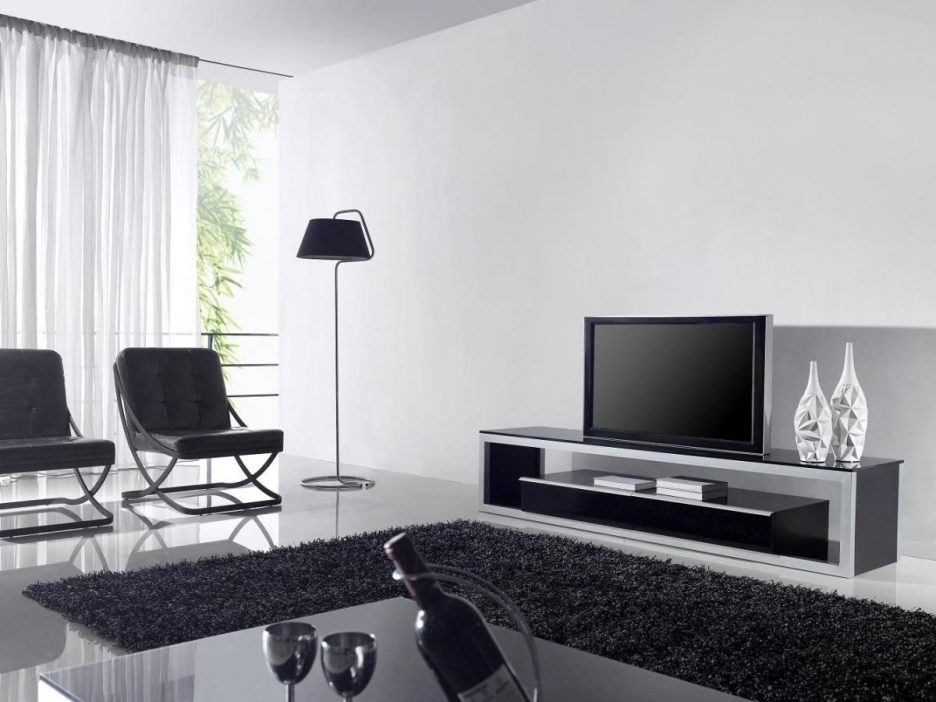 Amazing Elite White And Black TV Stands Throughout Living Room Extraordinary Tv Stand Living Room Furniture With (Image 3 of 50)