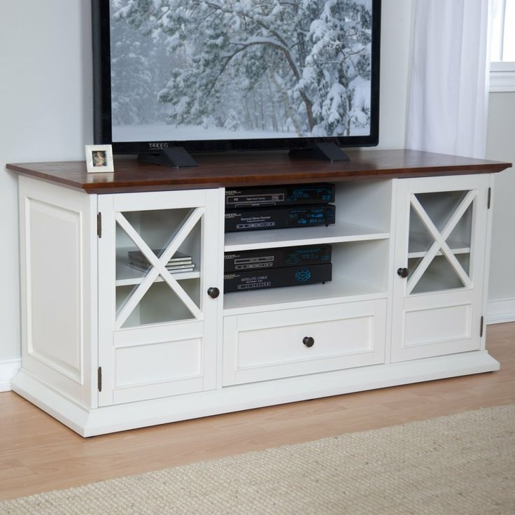 Amazing Elite White And Wood TV Stands Regarding 11 Best Tv Stand Images On Pinterest Entertainment Centers Tv (Image 4 of 50)