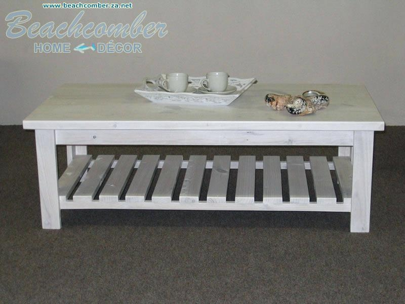 Amazing Elite White Cottage Style Coffee Tables For Beach House Style Coffee Table Blackbeardesignco (View 43 of 50)