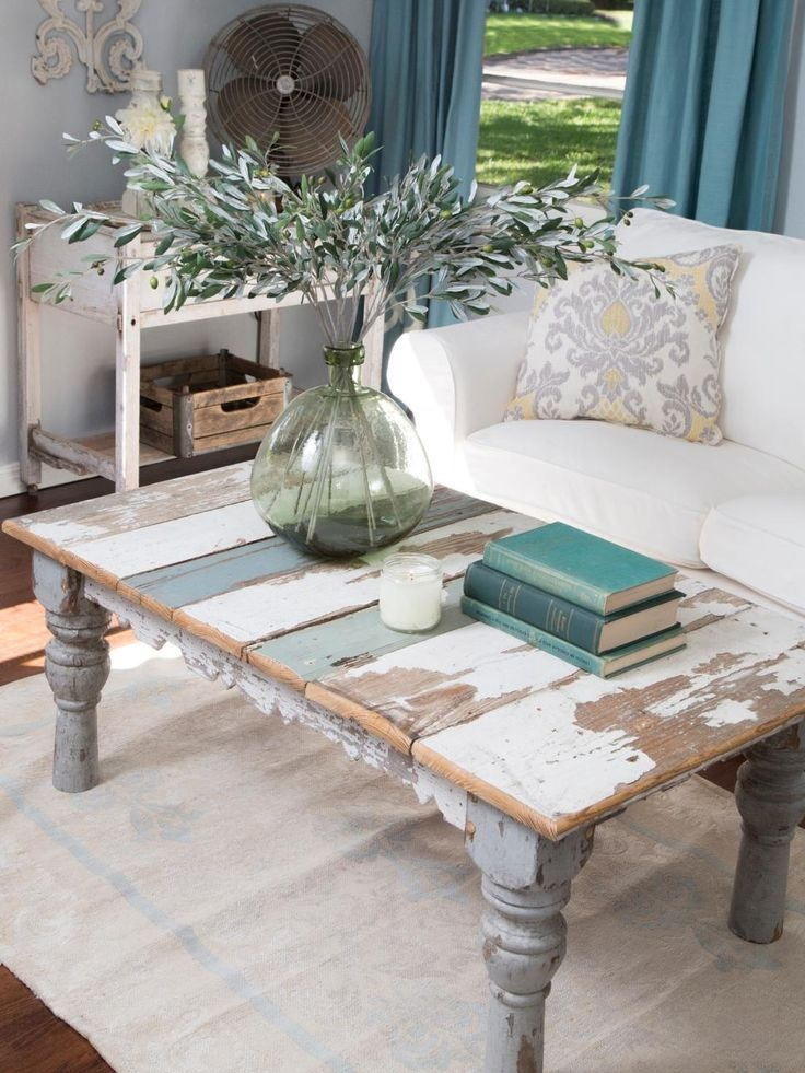 Amazing Elite White Cottage Style Coffee Tables Within Best 10 Reclaimed Coffee Tables Ideas On Pinterest Reclaimed (Image 3 of 50)