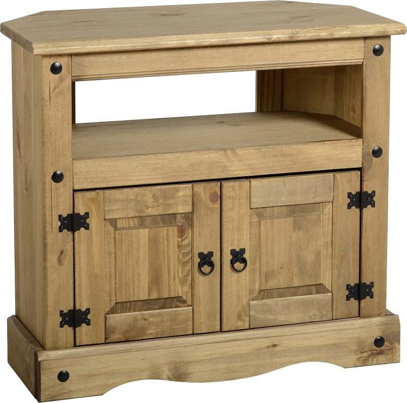 Amazing Elite Wooden TV Cabinets Inside Corona Tv Stand Living Room Furniture Solid Wood Mexican Pine (Image 1 of 50)
