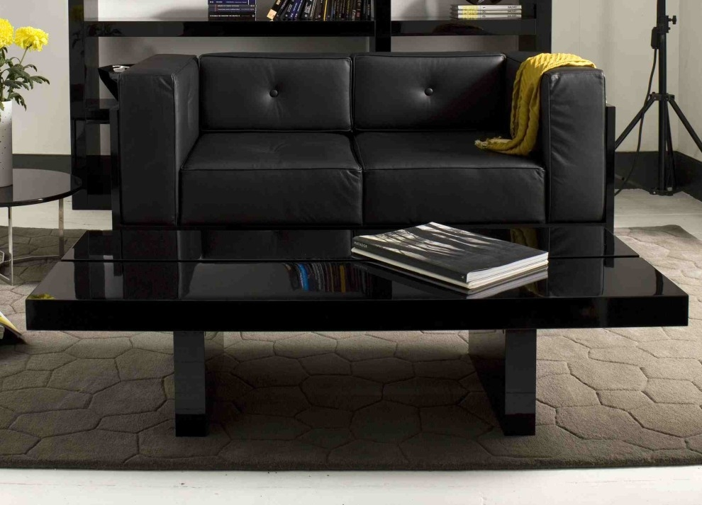 Amazing Famous Big Black Coffee Tables Within Black Coffee Table Design Images Photos Pictures (Image 4 of 50)