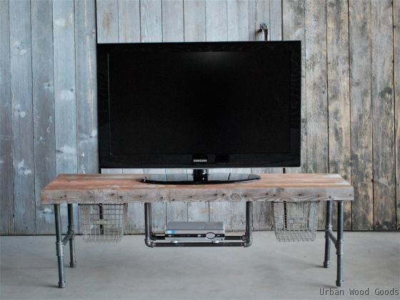 Amazing Famous Cast Iron TV Stands Inside 14 Best Tv Stand Images On Pinterest Industrial Tv Stand Tv (Image 1 of 50)