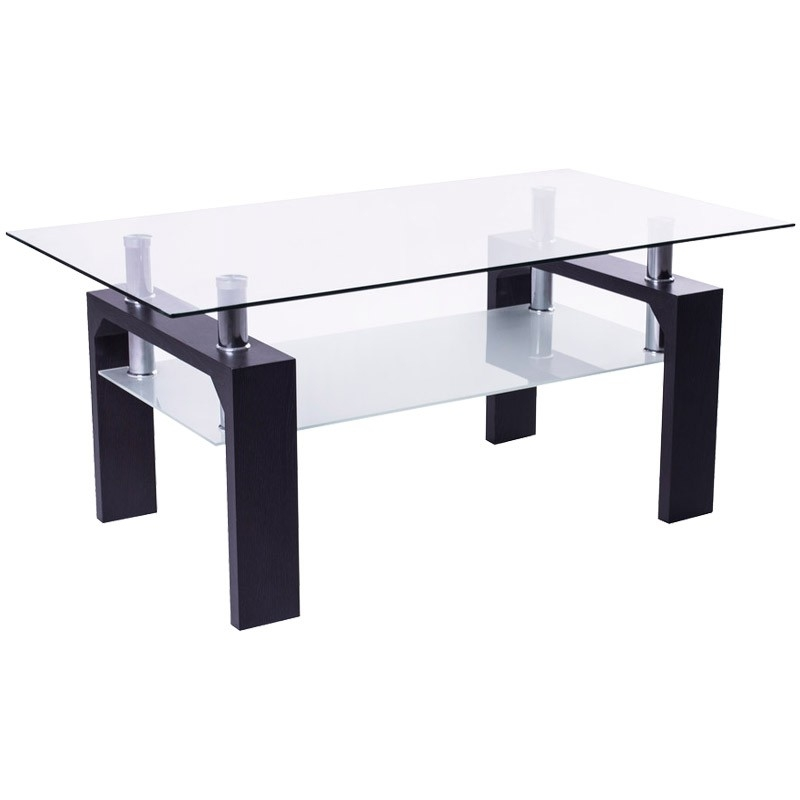 Amazing Famous Dark Brown Coffee Tables For Larvik Coffee Table Dark Brown Coffee Table Jysk Canada (View 30 of 50)