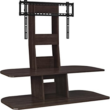 Amazing Famous Dark Walnut TV Stands Throughout Amazon Altra Furniture 1761196pcom Galaxy Tv Stand With Mount (Image 1 of 50)