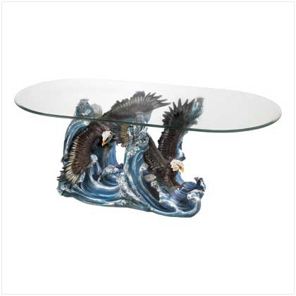 Amazing Famous Dragon Coffee Tables With Decorative Themed Figure Round Glass Top Accent Table Ebay (Image 5 of 50)