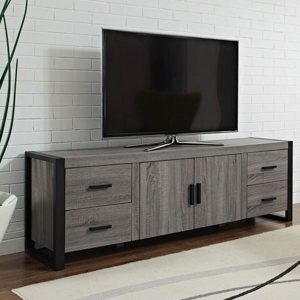 Amazing Famous Grey Wood TV Stands With 14 Best Entertainment Images On Pinterest Entertainment Centers (Image 2 of 50)