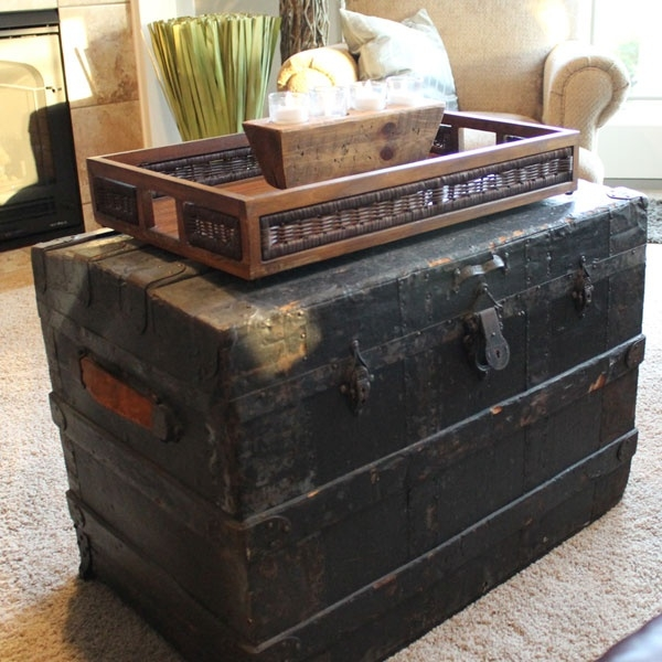 Amazing Famous Old Trunks As Coffee Tables Throughout 57 Best Trunk Images On Pinterest Steamer Trunk Vintage (Image 2 of 50)