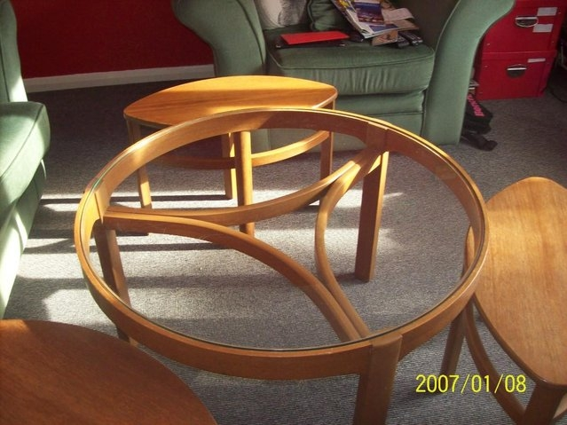Amazing Famous Retro Teak Glass Coffee Tables Pertaining To Teak Nest Of Tables Second Hand Household Furniture Buy And (View 43 of 50)
