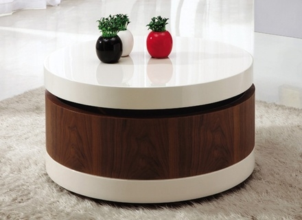 Amazing Famous Round Coffee Table Storages With Round Coffee Table Storage Jerichomafjarproject (Image 2 of 50)
