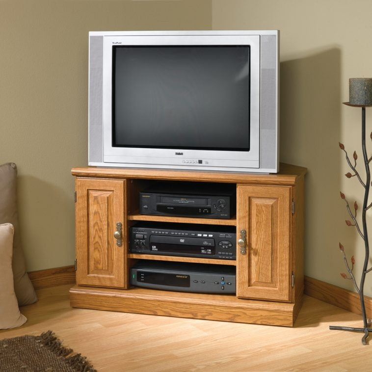 Amazing Famous Small Oak Corner TV Stands With Small Corner Tv Cabinet Furniture Best Modern Tv Wall Unit (View 50 of 50)
