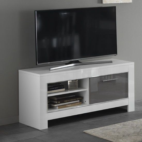 Amazing Famous Small White TV Stands Pertaining To Best 10 Small Tv Stand Ideas On Pinterest Apartment Bedroom (Image 3 of 50)