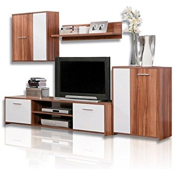 Amazing Famous TV Cabinets And Wall Units With Amazon Jump Tv Cabinet Wall Unit Living Room Entertainment (Image 2 of 50)