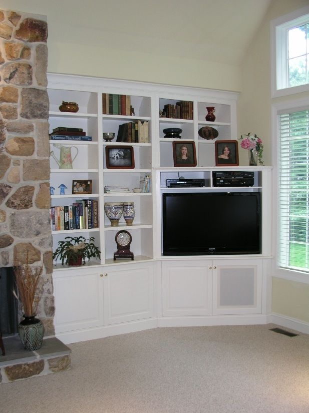Amazing Famous TV Stands With Matching Bookcases With Regard To Best 25 Corner Tv Cabinets Ideas Only On Pinterest Corner Tv (Image 1 of 50)