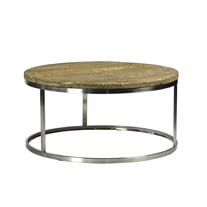 Amazing Famous Wood Chrome Coffee Tables With Barn Wood Chrome Coffee Table Furniture Mix Furniture (Image 1 of 40)