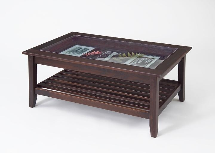 Amazing Famous Wooden And Glass Coffee Tables Pertaining To Coffee Table Glass Wood (View 12 of 50)