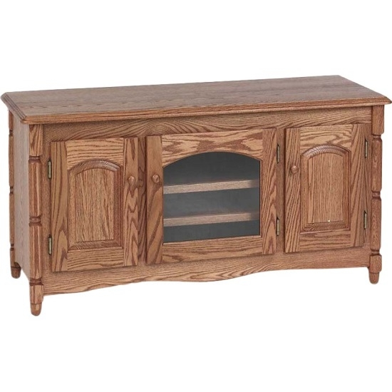 Amazing Fashionable Country TV Stands With Country Style Solid Oak Tv Stand Wcabinet 51 The Oak (Image 3 of 50)