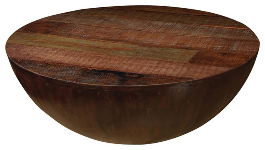 Amazing Fashionable Half Circle Coffee Tables With Regard To Circle Coffee Table (Photo 2 of 40)