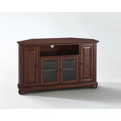 Amazing Fashionable Mahogany Corner TV Cabinets With Regard To Tv Stands Cabinets On Sale Bellacor (Image 1 of 50)