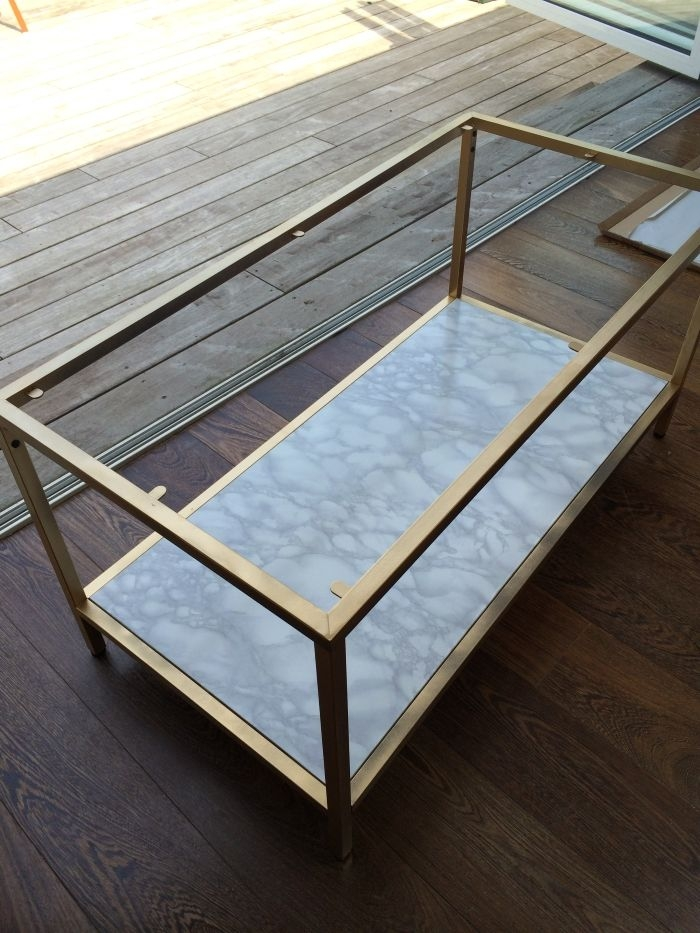 Amazing Fashionable Marble Coffee Tables Intended For 25 Best Faux Marble Coffee Table Ideas On Pinterest Cheap (View 20 of 50)