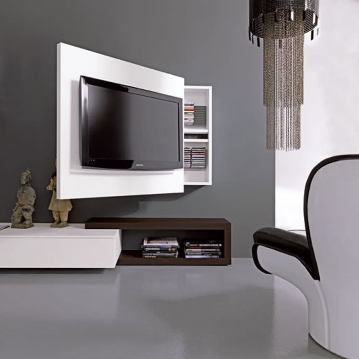Amazing Fashionable TV Stands For Small Spaces With Regard To Best 25 Tv Rack Ideas On Pinterest Google Box Tv Hide Wires (Image 2 of 50)