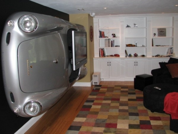 Amazing Fashionable Unusual TV Stands With Weird Yet Amazing Car Tv Stand Funny Furniture (Image 2 of 50)