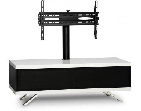 Amazing Fashionable White Cantilever TV Stands Intended For Mda Designs Tucana Hybrid Cantilever Tv Stand For Upto 60 Tvs (Image 2 of 50)