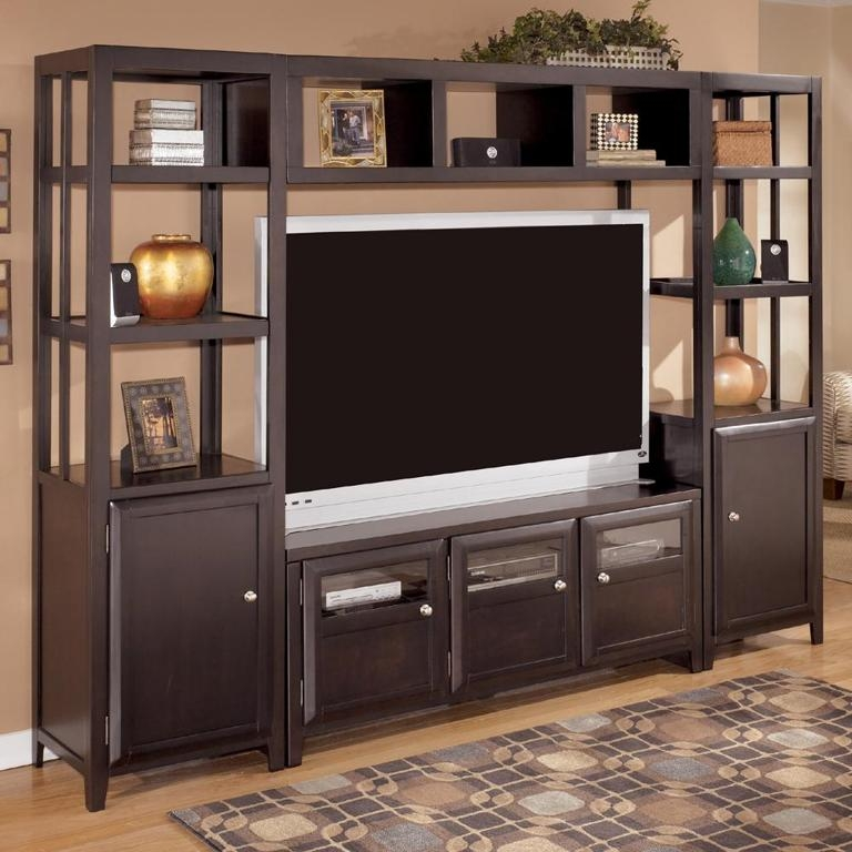Amazing Fashionable Wooden TV Cabinets With Glass Doors In Furniture Classyc Dining Room Showcase Ideas With Brown (Image 3 of 50)
