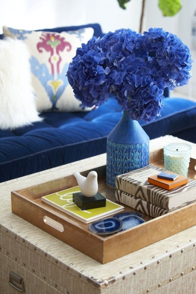 Amazing Favorite Blue Coffee Tables Pertaining To 122 Best Coffee Table Decor Images On Pinterest Coffee Table (Image 3 of 50)