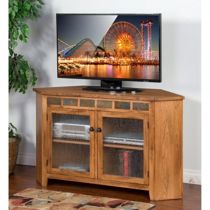 Amazing Favorite Corner TV Stands For 55 Inch TV With Regard To Best 25 Corner Tv Console Ideas Only On Pinterest Corner Tv (View 27 of 50)