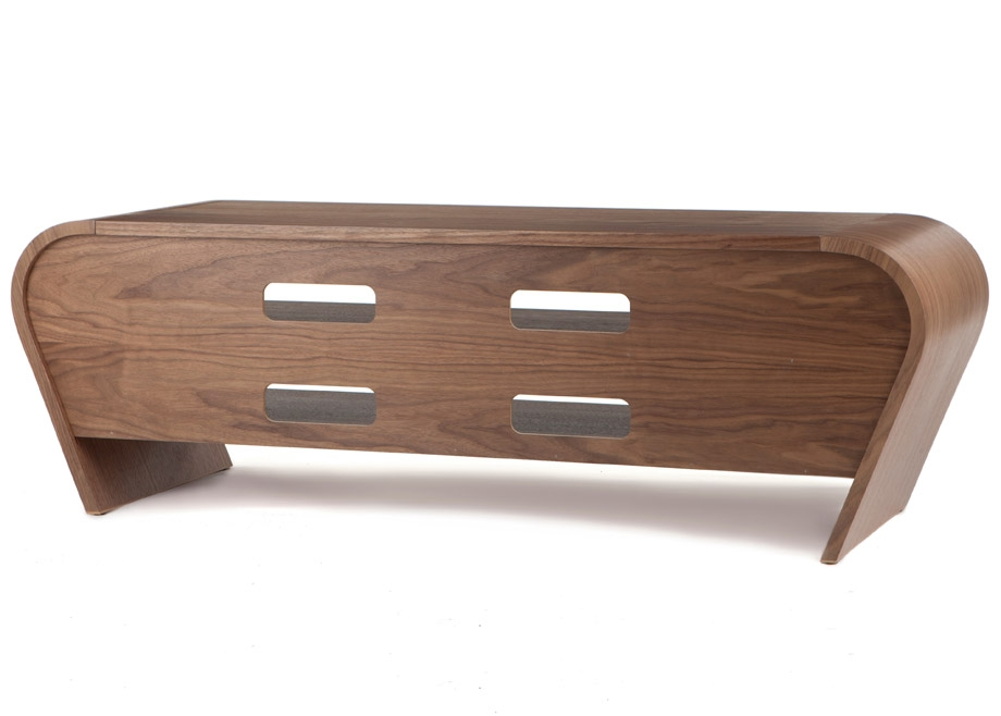 Amazing Favorite Curve TV Stands Within Walnut Tv Stand Ukcf Milan Gloss Walnut Tv Cabinet Buy Libert (View 34 of 50)