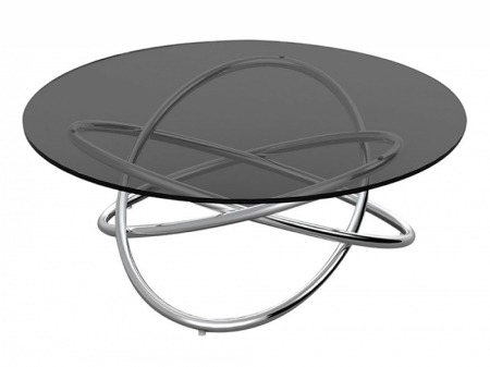 Amazing Favorite Dark Glass Coffee Tables Inside Cross Smoked Black Glass Coffee Table Coffee Tables From Fads (Image 3 of 50)