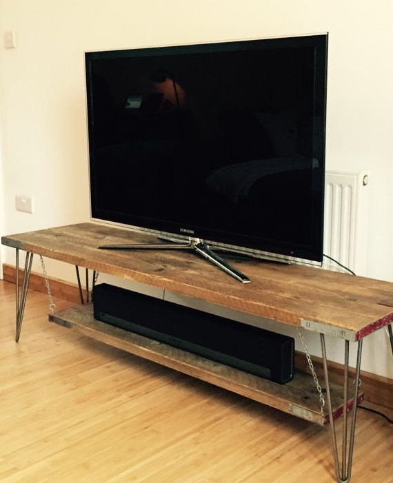 Amazing Favorite Hairpin Leg TV Stands Regarding Best 25 Tv Tables Ideas On Pinterest Tv Table Stand Rustic Tv (Image 3 of 50)