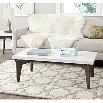 Amazing Favorite Safavieh Coffee Tables For Amazon Safavieh Home Collection Josiah Mid Century Modern (Image 3 of 50)