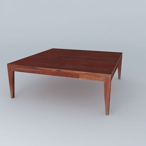 Amazing Favorite Soho Coffee Tables Throughout Coffee Table Soho 3d Model Max Obj 3ds Fbx Stl Skp (Image 4 of 40)