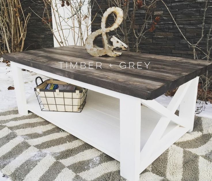 Amazing Favorite White Cottage Style Coffee Tables Intended For Best 10 Painted Coffee Tables Ideas On Pinterest Farm Style (Image 4 of 50)
