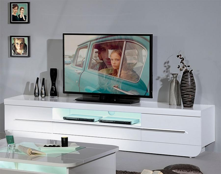 Amazing Favorite White High Gloss TV Stands In Tv Stands Glamorous White High Gloss Tv Stand 2017 Design Red (Image 6 of 50)