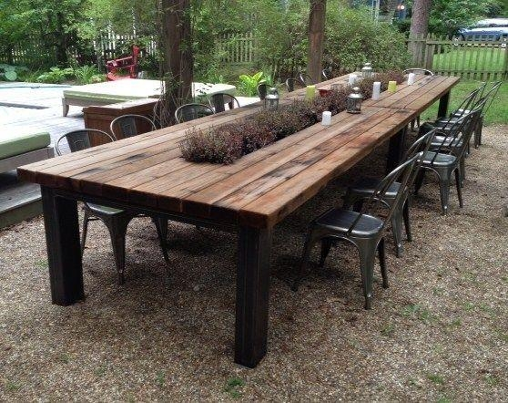 Amazing Garden Furniture Table Patio Furniture Walmart For Garden Dining Tables (Image 1 of 20)