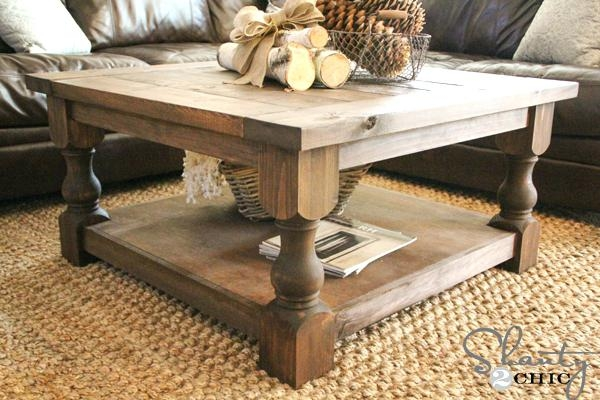 Amazing High Quality Big Low Coffee Tables Regarding Coffee Table Reclaimed Wood Square Coffee Table Modern (Image 3 of 50)
