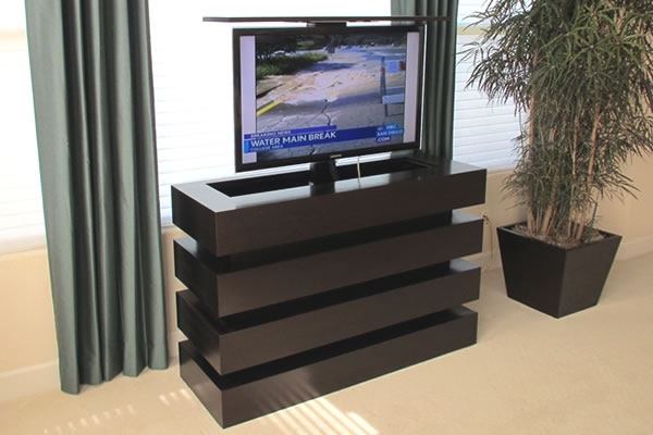 Amazing High Quality Contemporary TV Cabinets For Flat Screens For Tv Lift Furniture Hidden Tv Cabinet Bed With Tv Lift (Image 4 of 50)