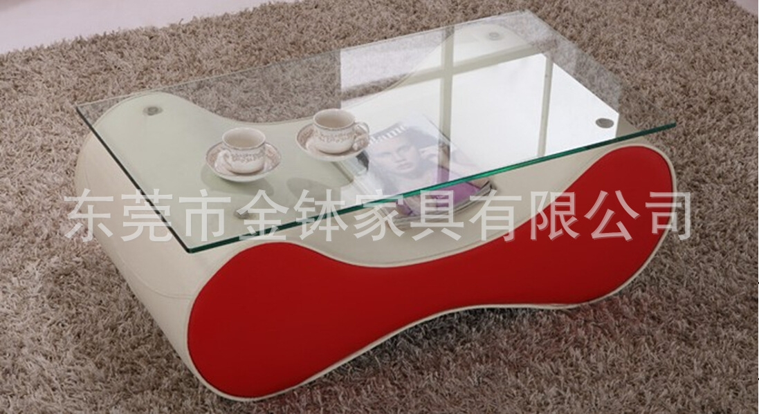 Amazing High Quality High Quality Coffee Tables Intended For Korean Arc Leisure Coffee Table High Quality Glass Steel Living (View 20 of 50)