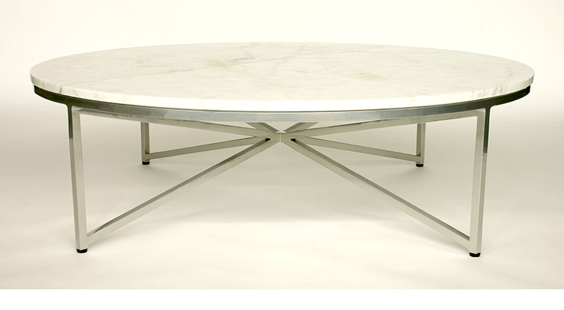 Amazing High Quality Large Round Low Coffee Tables Throughout Stone And Glass Coffee Tables Coffee Addicts (View 33 of 50)